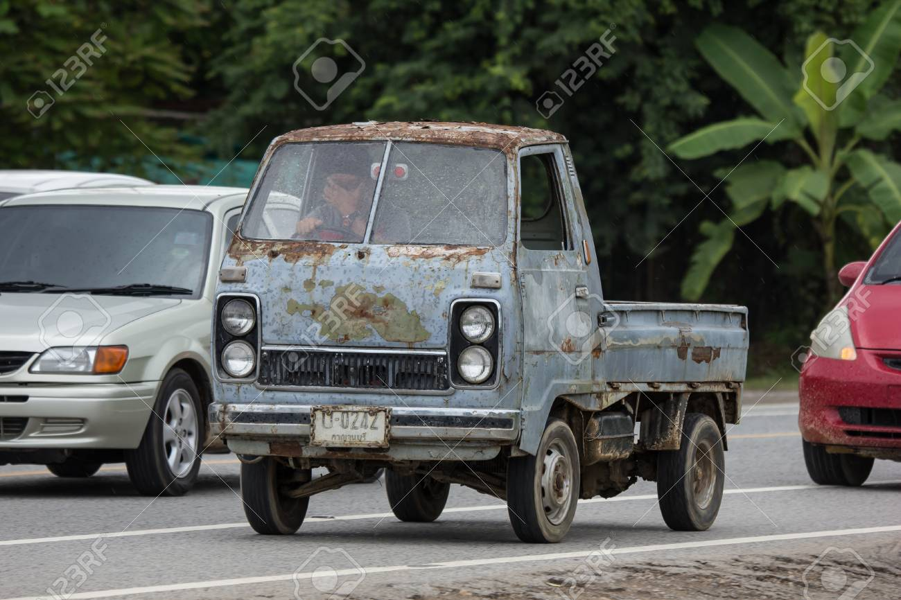 Chiangmai Thailand September 4 2018 Private Old Mini Truck
