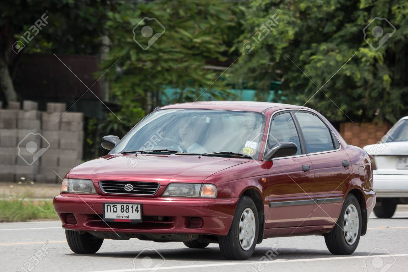 Chiangmai Thailand September 10 2018 Private Old Car Suzuki Stock Photo Picture And Royalty Free Image Image 111101327