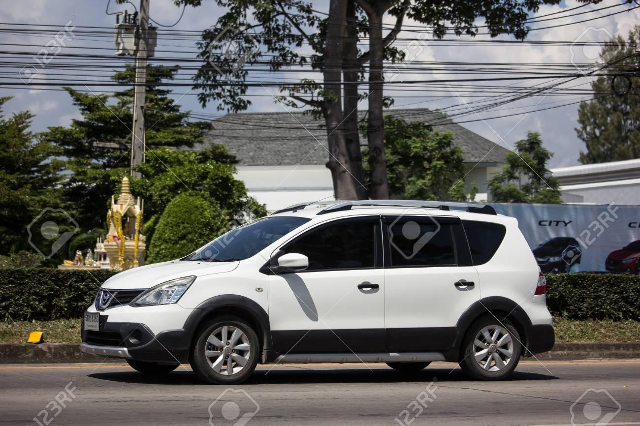 Chiangmai Thailand September 27 2018 Private Nissan Livina