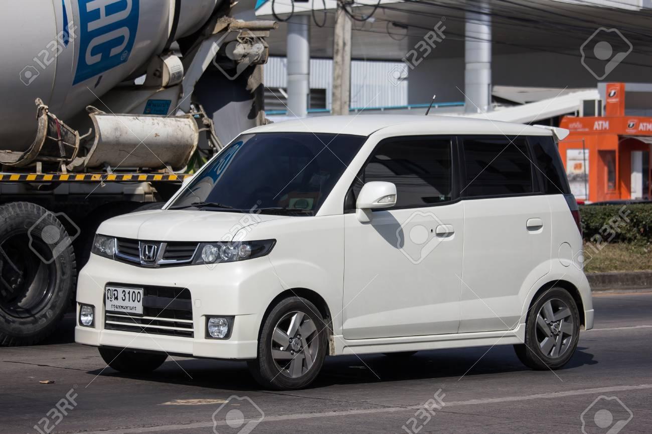 Chiangmai Thailand December 4 2018 Private Honda Mini Van