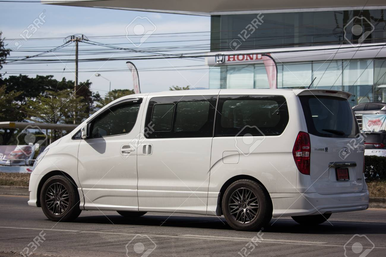 Chiangmai Thailand January 4 2019 Private Luxury Van From
