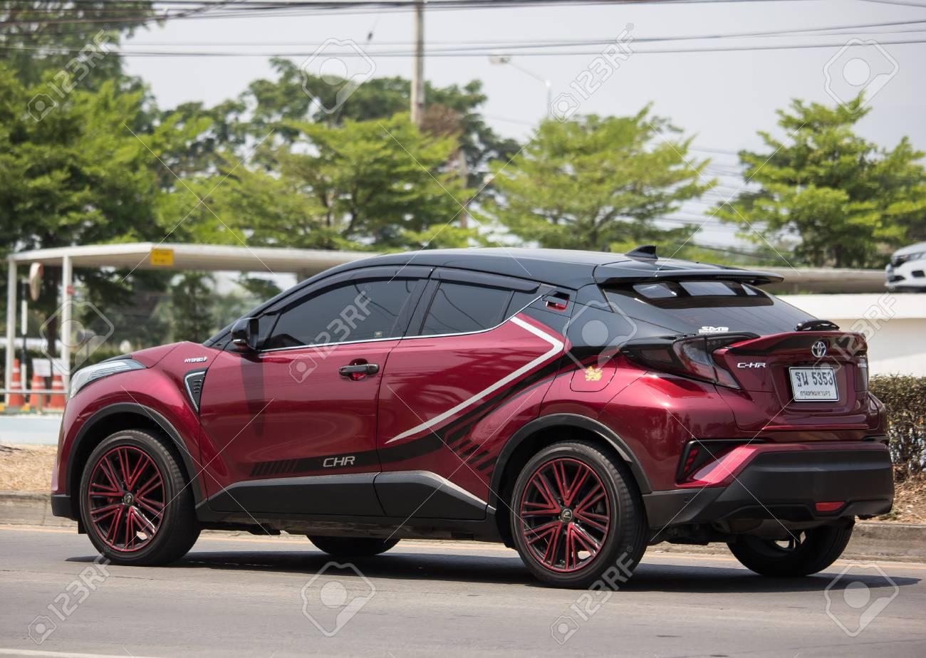 Toyota Chr Hybrid >> Chiangmai Thailand April 26 2019 New Toyota Chr Subcompact