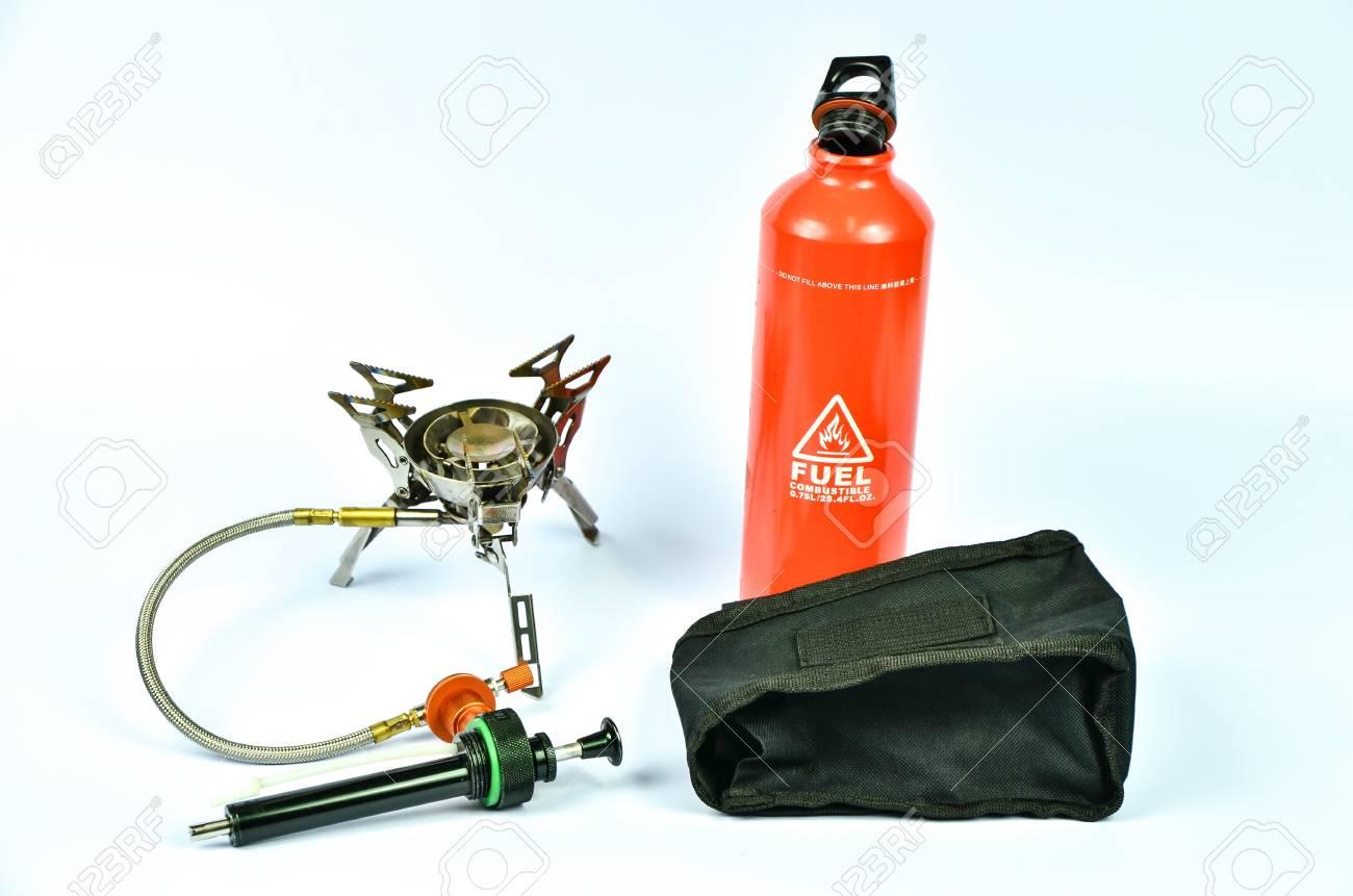 Multifuel gas stove set on white background Stock Photo - 22924317