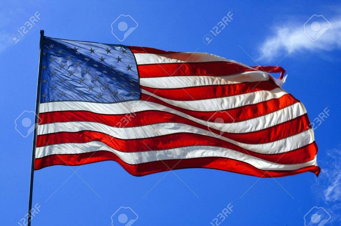 american flag Stock Photo - 5817302