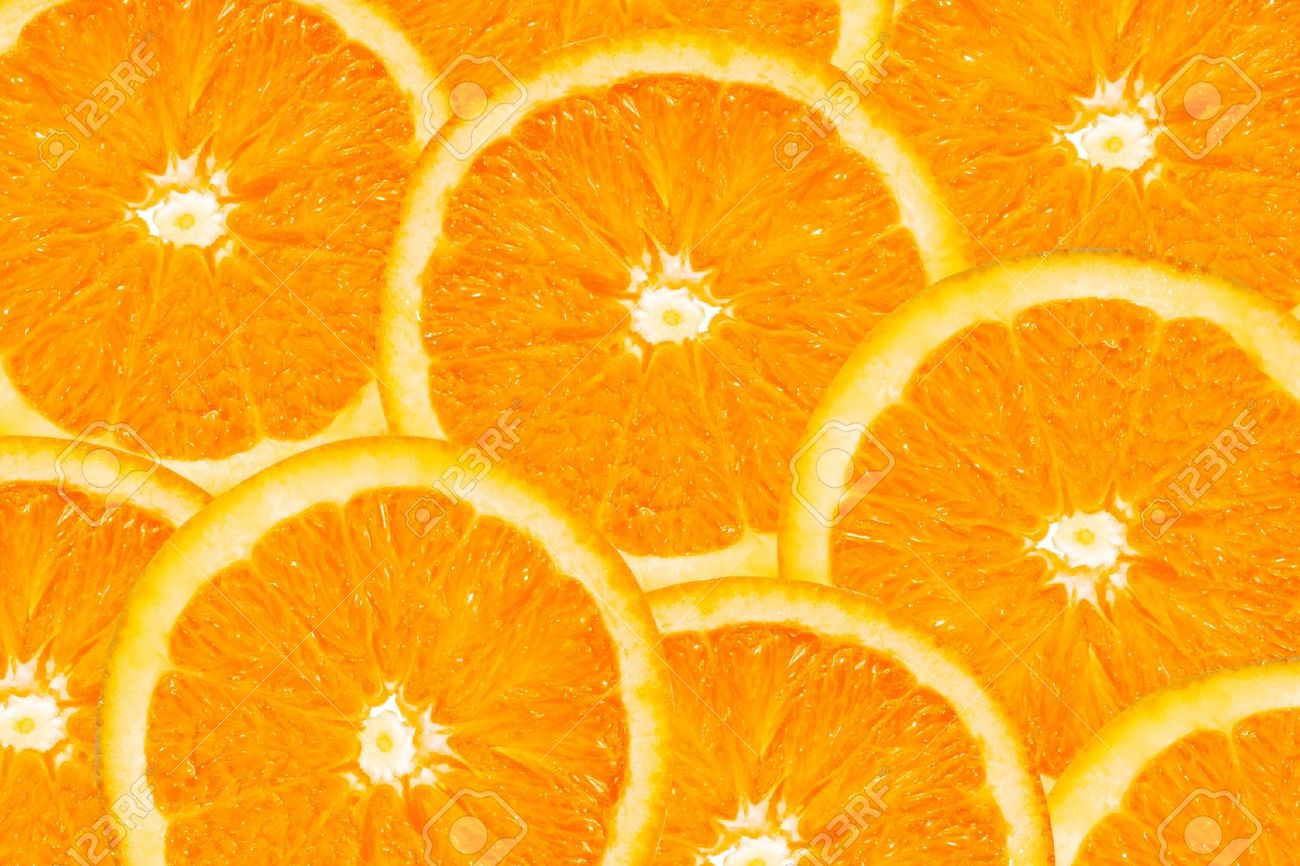 background made of a close-up of orange slices - 7724651