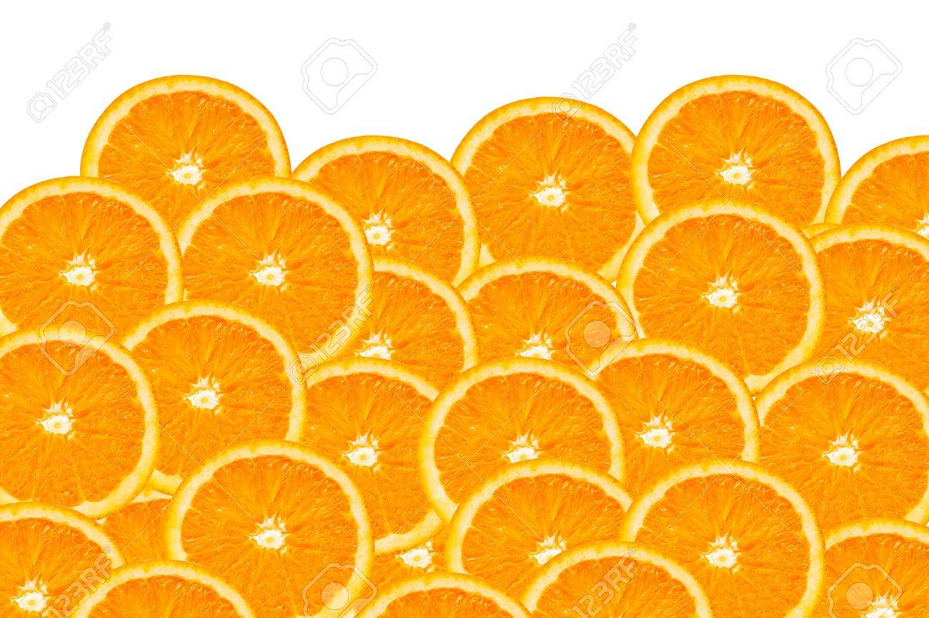 background made of a close-up of orange slices Stock Photo - 8020602