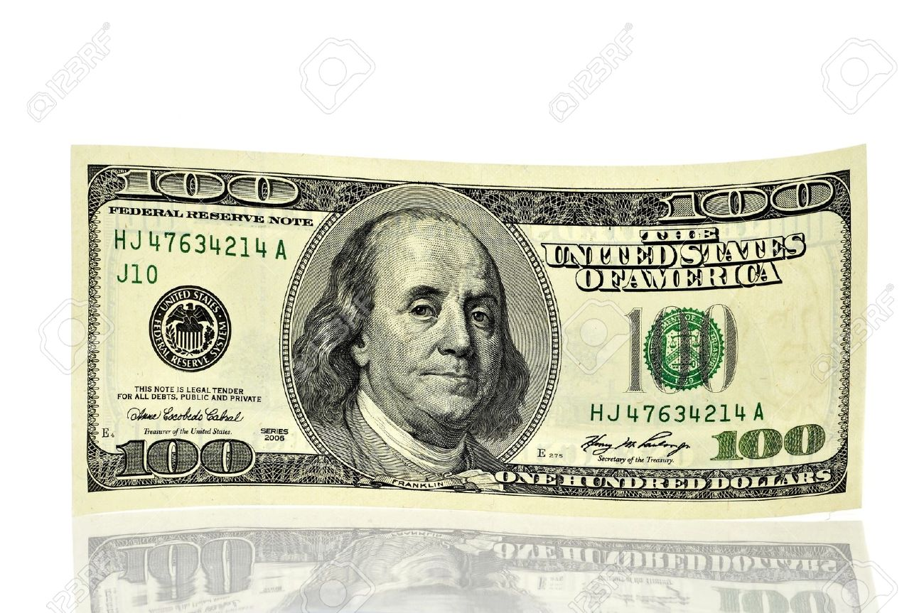 Picture of a hundred dollar note