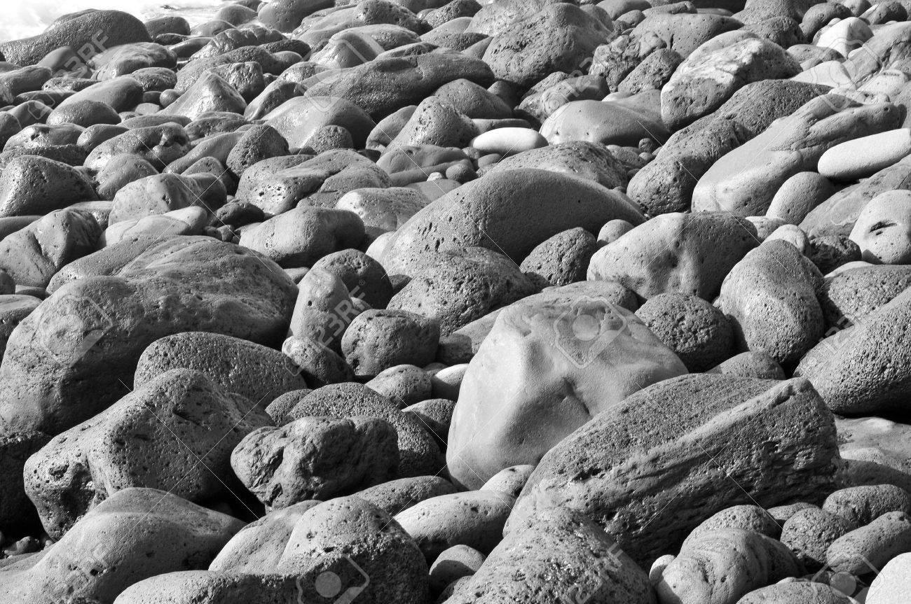closeup of a pile of pebbles of a shingle beach Stock Photo - 9889143