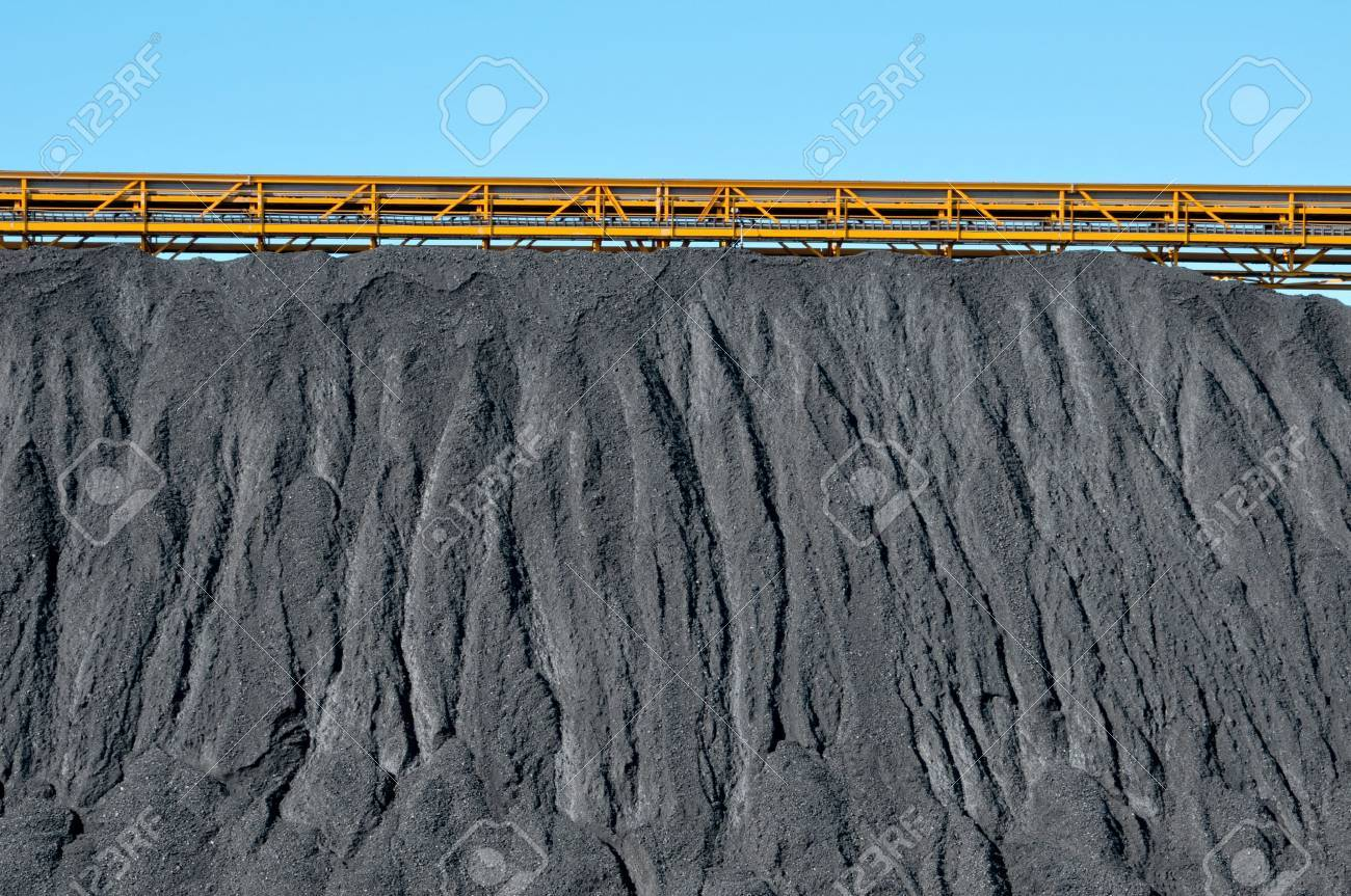 closeup of the facilities of a coal industry Stock Photo - 11916174