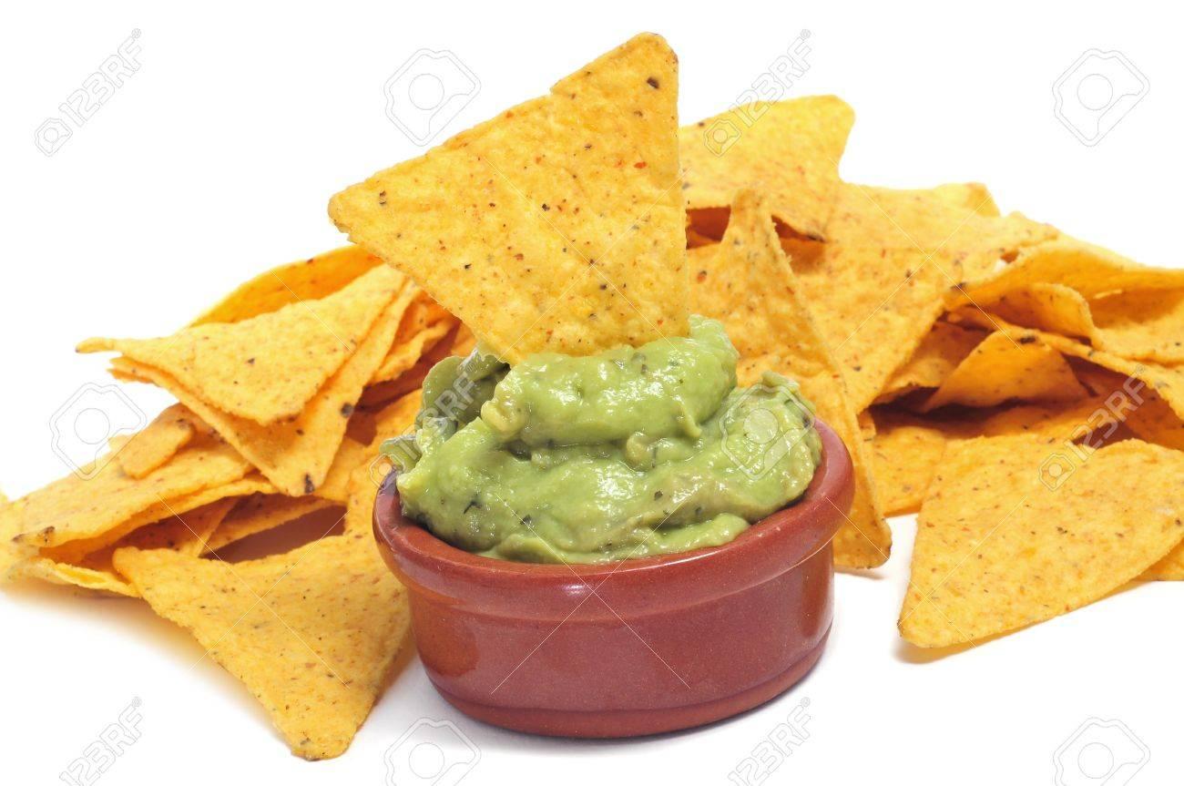 Risultati immagini per nachos con guacamole