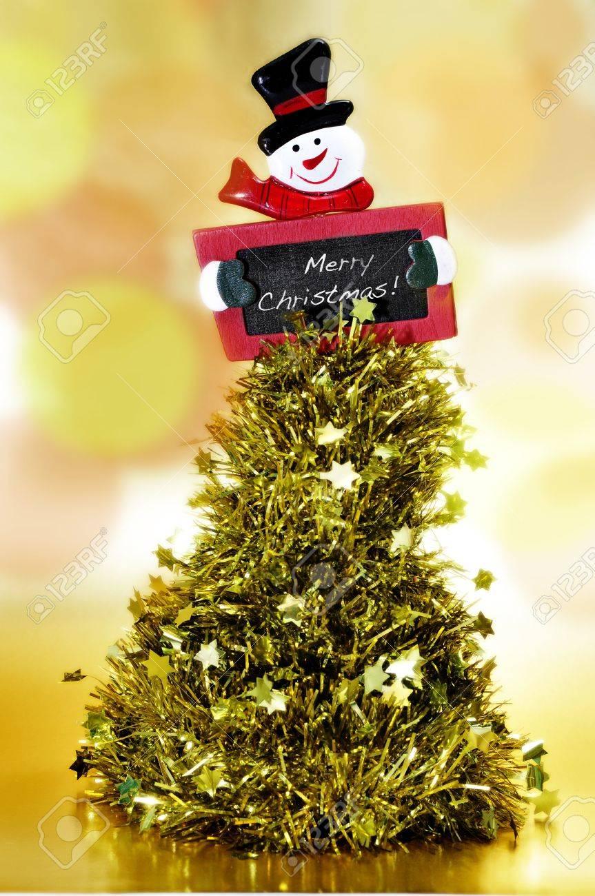 Super Orpello Albero Di Natale E Una Lavagna Con La Frase Buon Natale  GH55