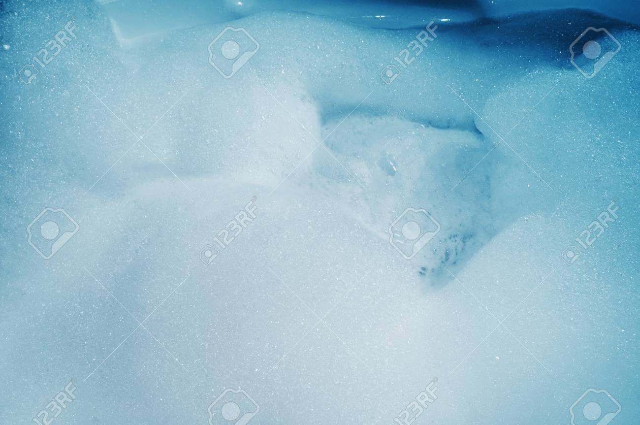 Closeup Of A Whirlpool Bath Full Of Foam Stock Photo, Picture And ...