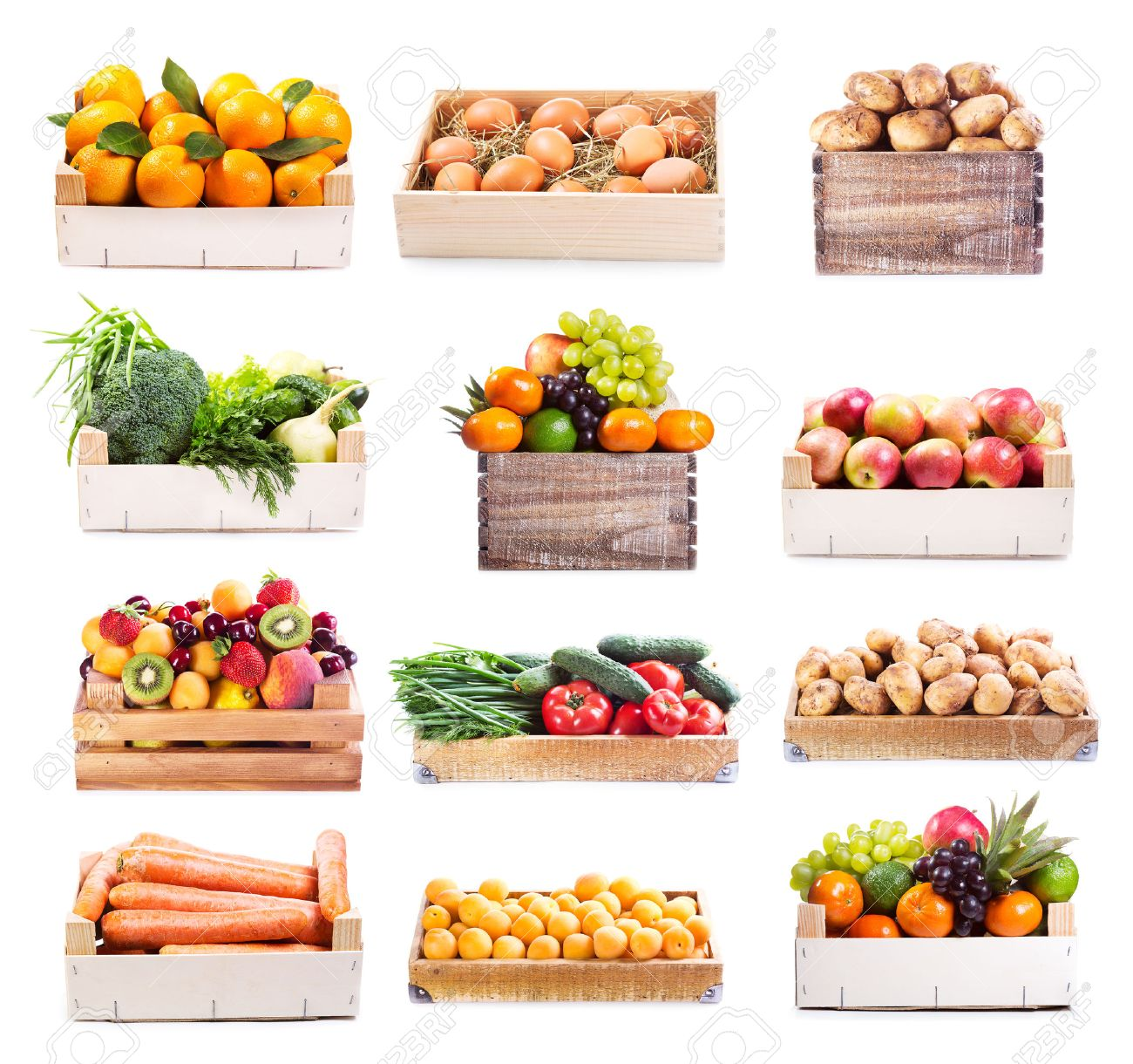 vegetable box stock photos royalty free vegetable box images and