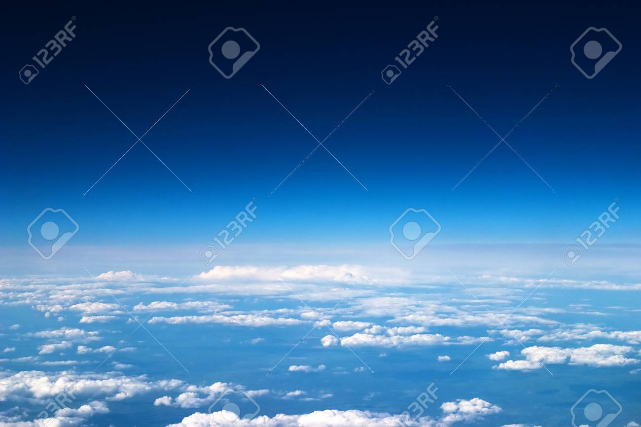 Sky and clouds background - 7866024