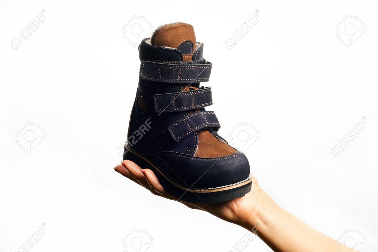 Orthopedic Footwear. Winter Footwear