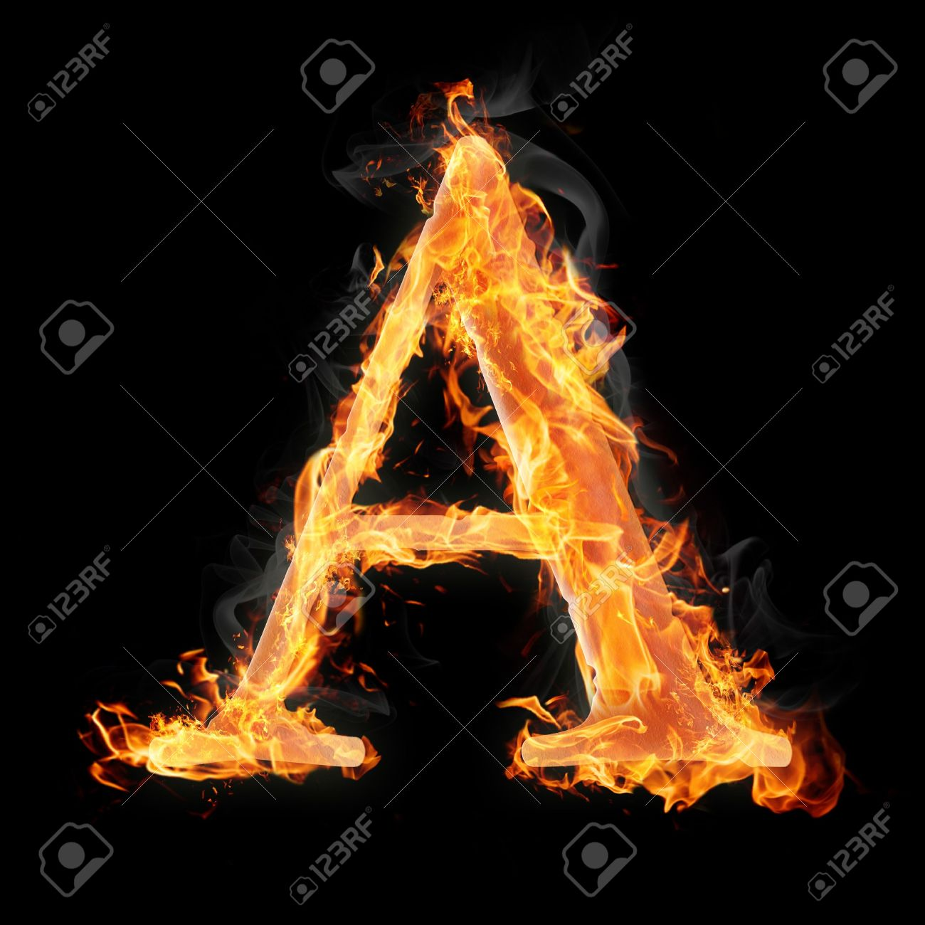 Letters and symbols in fire letter a stock photo picture and letters and symbols in fire letter a stock photo 22045677 altavistaventures Images