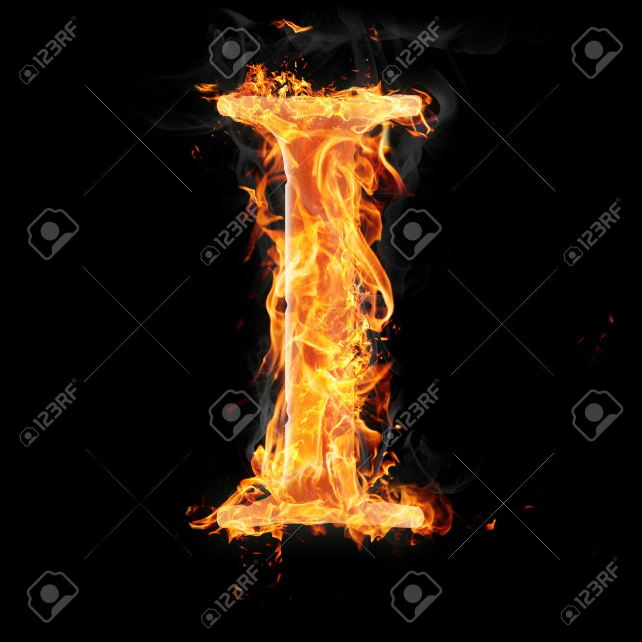 Letters and symbols in fire letter i stock photo picture and letters and symbols in fire letter i stock photo 22046126 thecheapjerseys Images