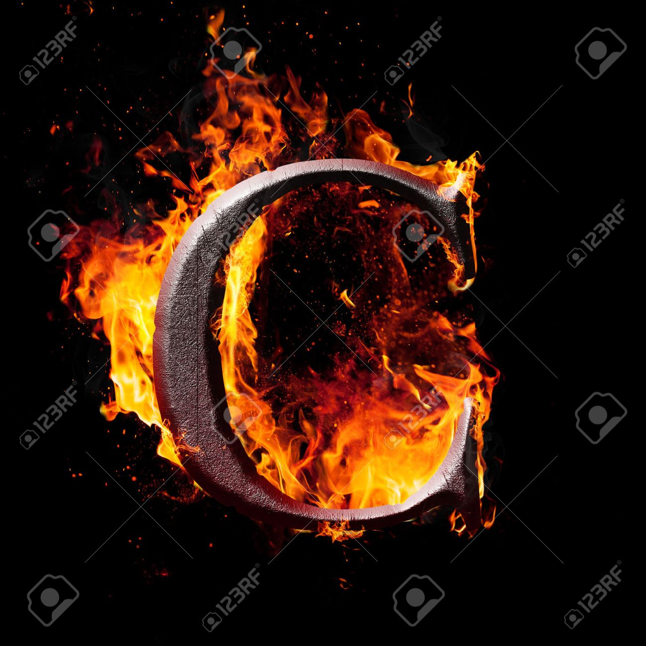 Letters and symbols in fire letter c stock photo picture and letters and symbols in fire letter c stock photo 24641879 buycottarizona Image collections