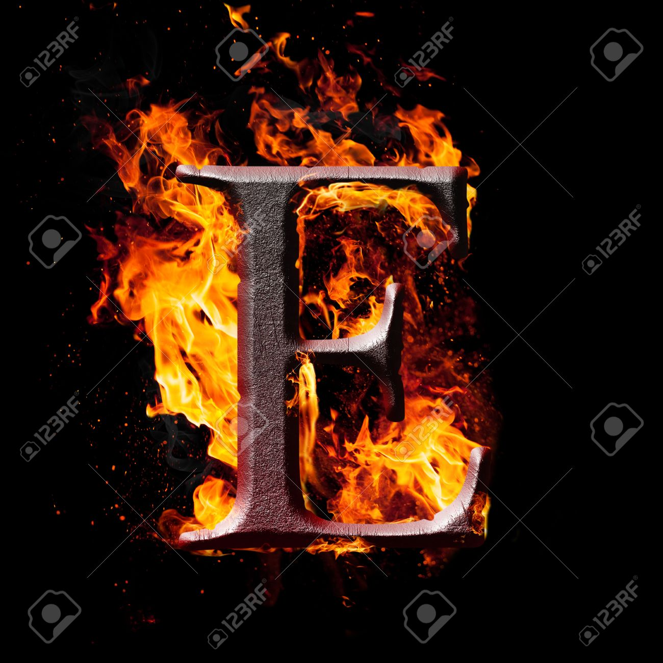 Letters and symbols in fire letter e stock photo picture and letters and symbols in fire letter e stock photo 24641883 thecheapjerseys Images