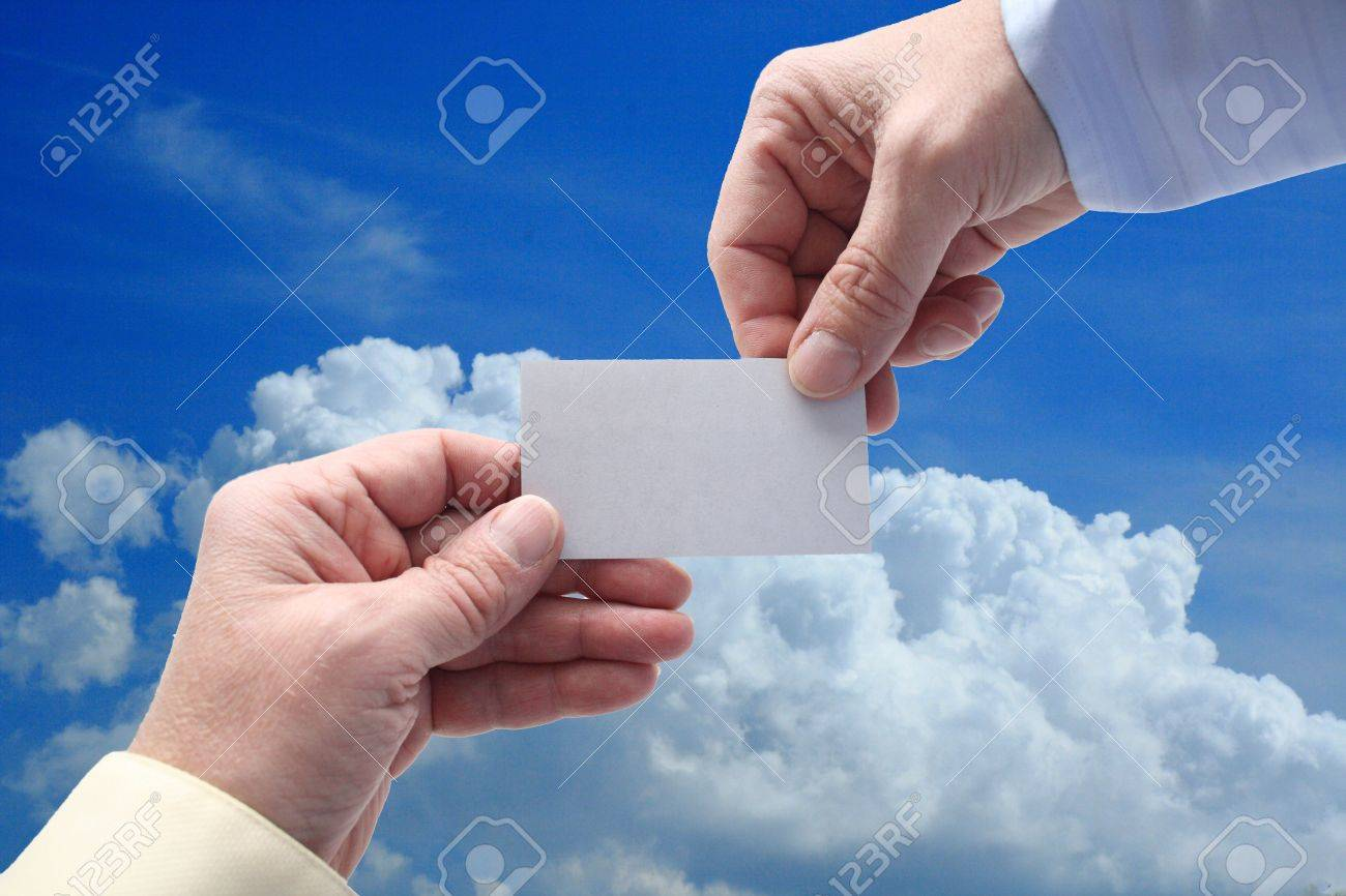 One handing out a business card to someone else stock photo picture one handing out a business card to someone else stock photo 13313457 colourmoves