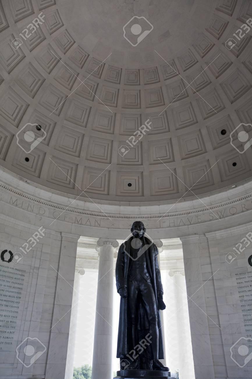 Thomas Jefferson memorial Washington DC - 38713199