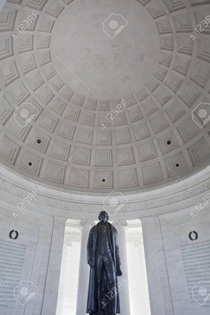 Thomas Jefferson memorial Washington DC - 38713201