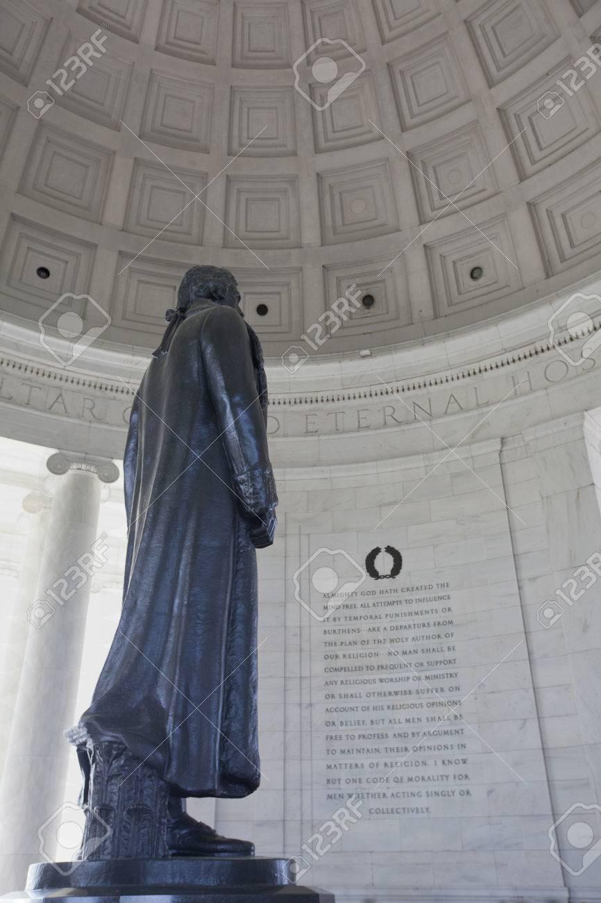 Thomas Jefferson memorial Washington DC - 38713203