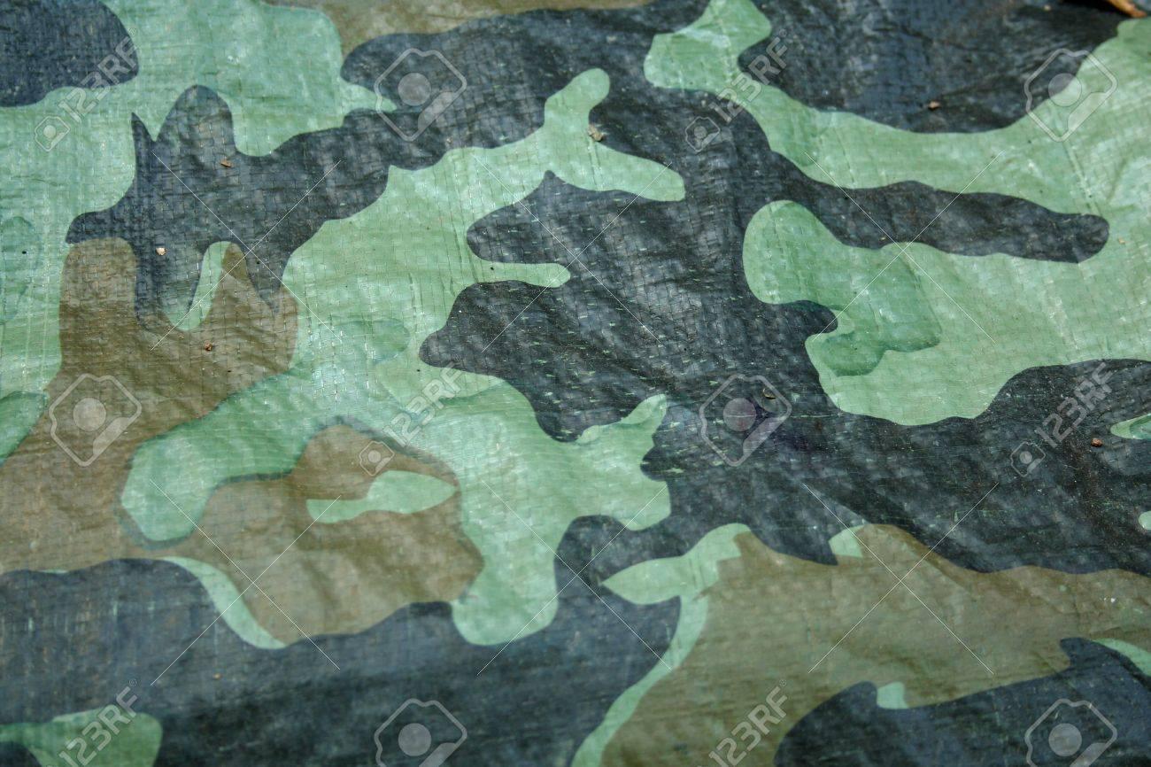 a plastic tarp camouflage background stock photo
