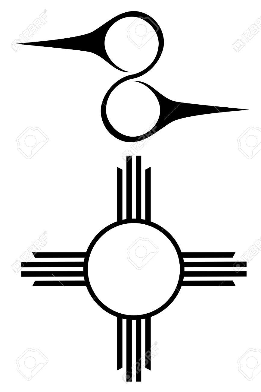 set of two native american symbols royalty free cliparts vectors rh 123rf com