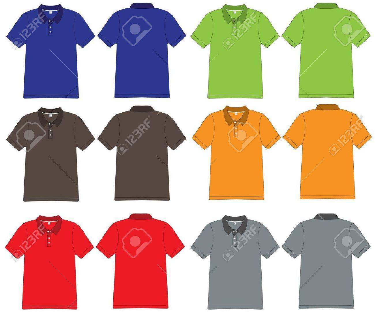 Polo shirt design vector - Vector Polo Shirt Design Vector Template