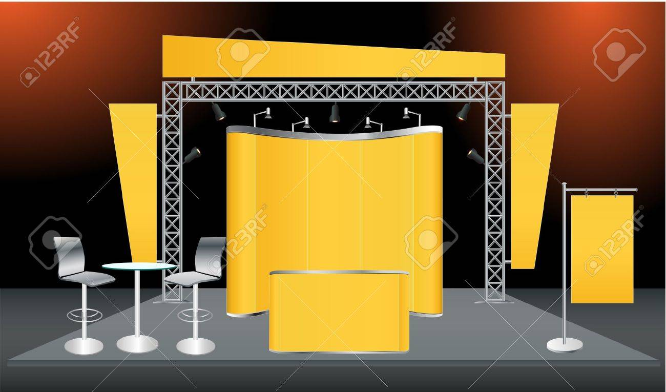Exhibition Stand With Screen : Exhibition standtv standled display standlcd display stand