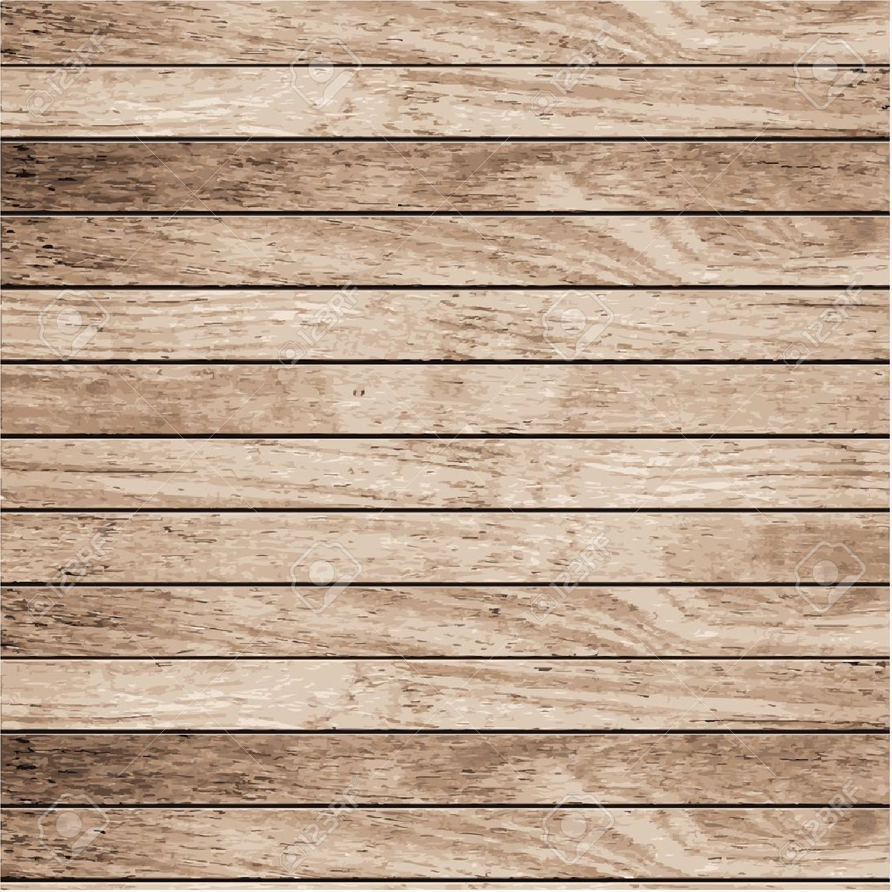 Vector wood plank background - 12972955