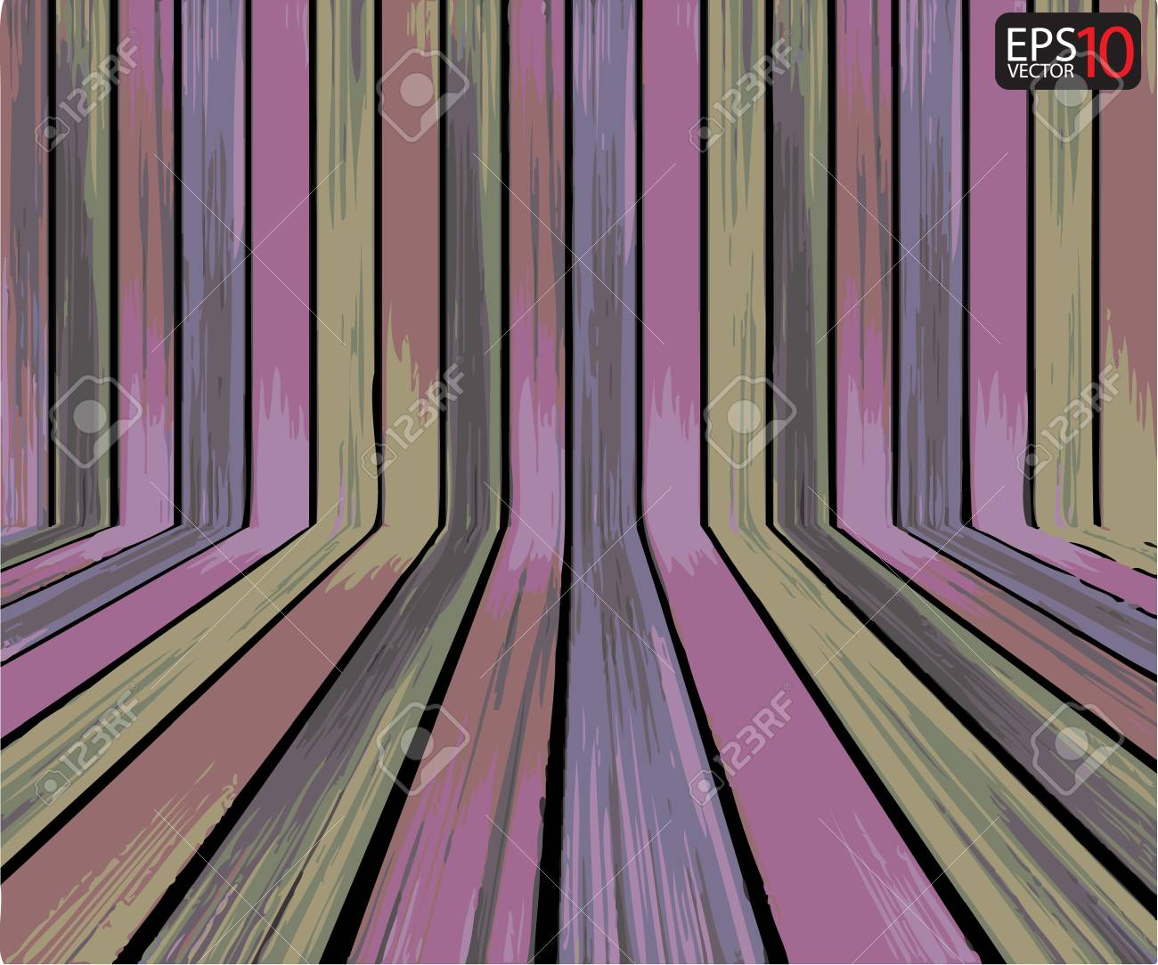 Creative Vector Wood Background Stock Vector - 13077045