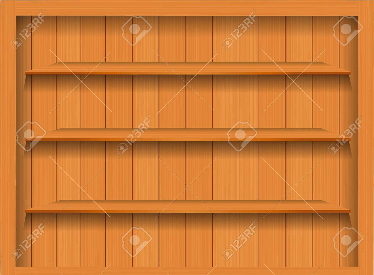 Interior wooden shelves free vector - Vector Empty Wood Shelf Grunge Industrial Interior Uneven Diffuse Lighting Version Design Component Stock