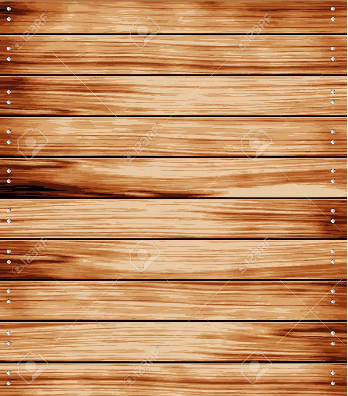 Wooden texture background. vector illustration. Stock Vector - 13328183
