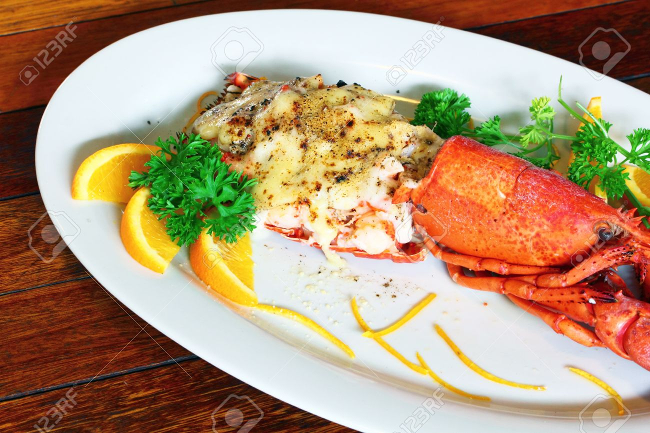 Lobster Thermidor Salad Stock Photo Picture And Royalty Free Image Image 15128899