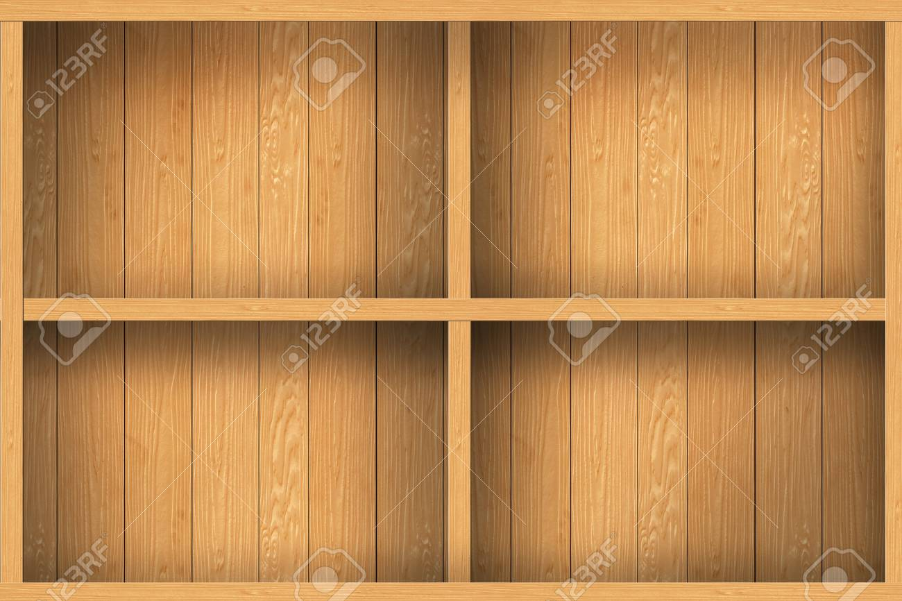 wood shelf design background Stock Photo - 16145476