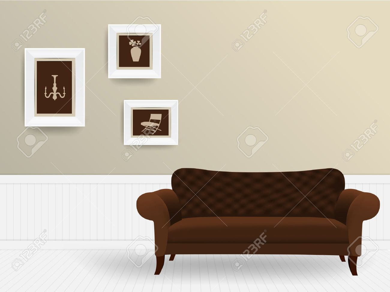 Living Room Furniture Templates