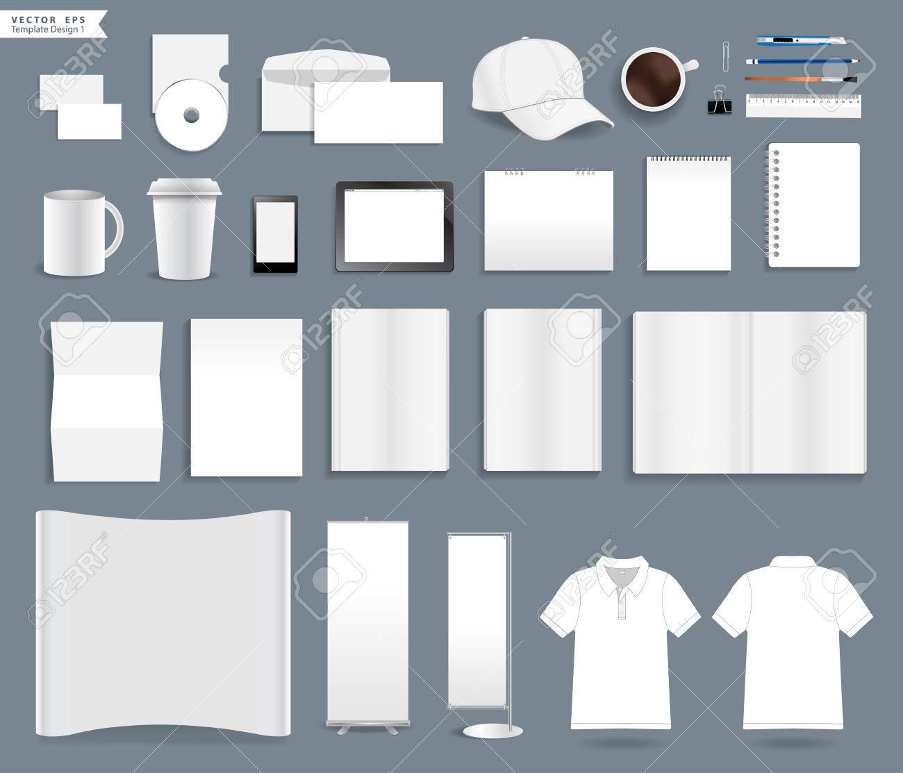 Modles Didentit Dentreprise Avec Le Blanc Carte De Visite Enveloppe