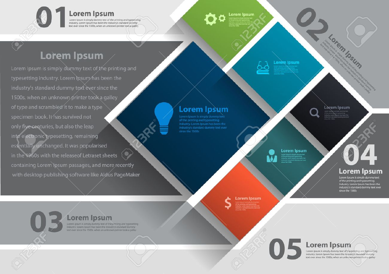 vector layout template design brochure flyer magazine cover