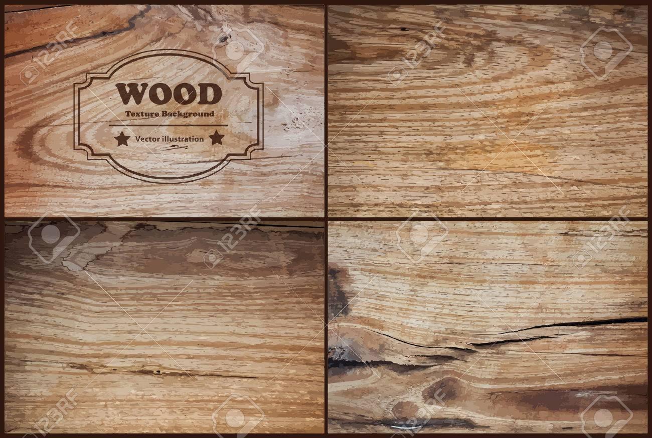 Vector wood texture background Stock Vector - 43936996
