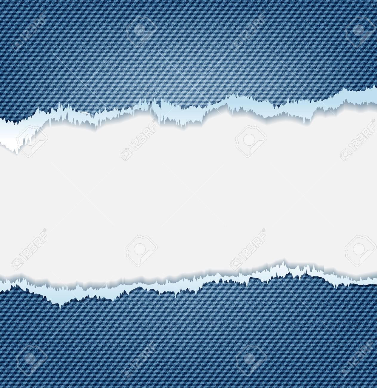 Denim Jeans Ripped Destroyed Torn Blue Patch Ausgefranst Klappe ...
