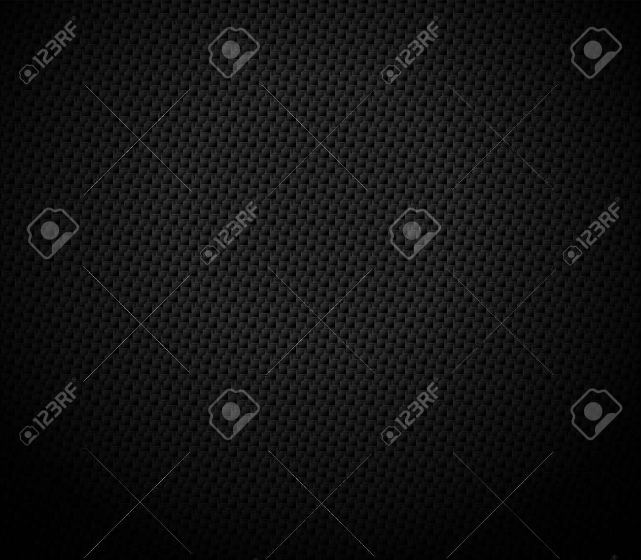 Vector Abstract black hexagonal background, 3D illustration in a4 size design - 158683305