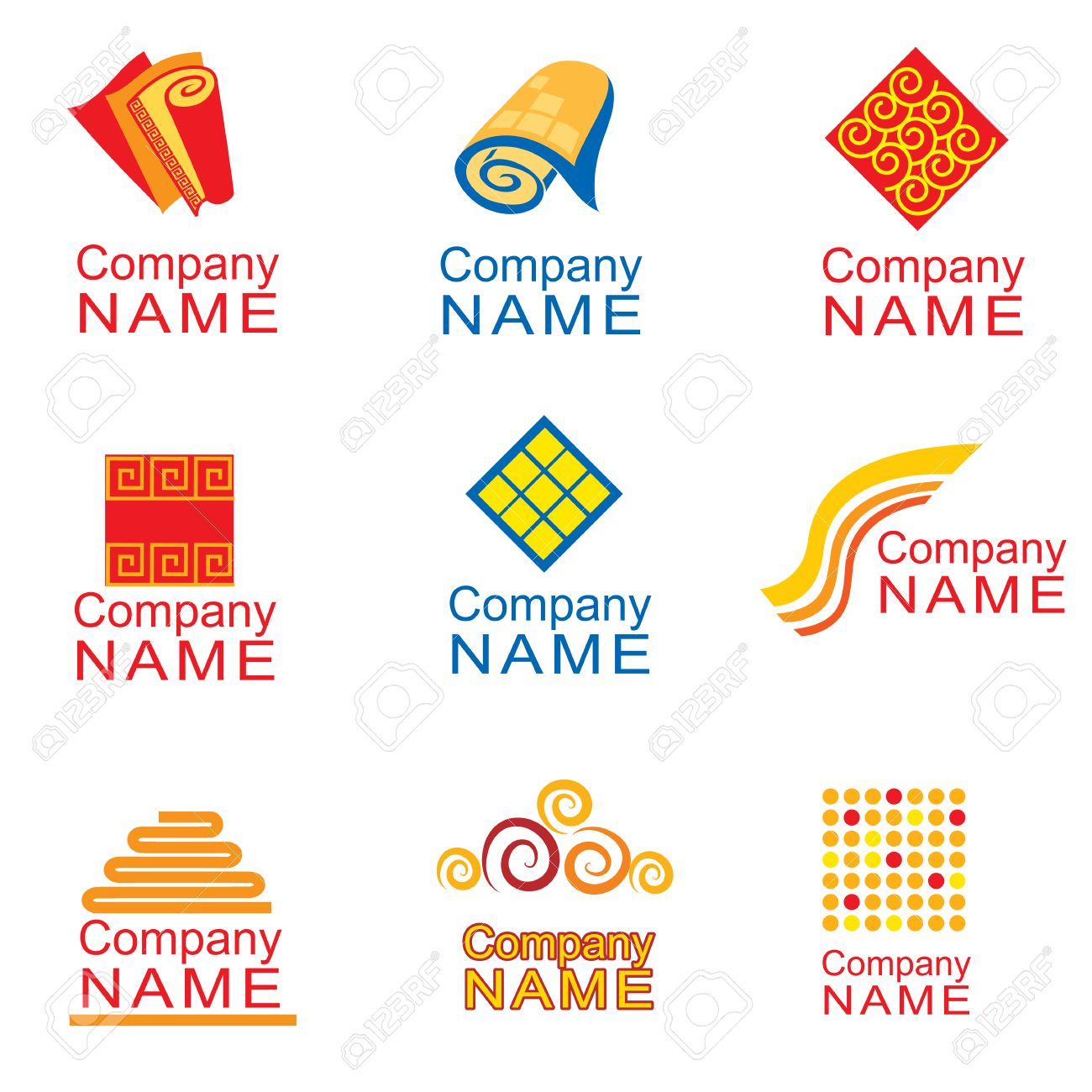 carpet company logo. logo design - carpets stock vector 5072426 carpet company r
