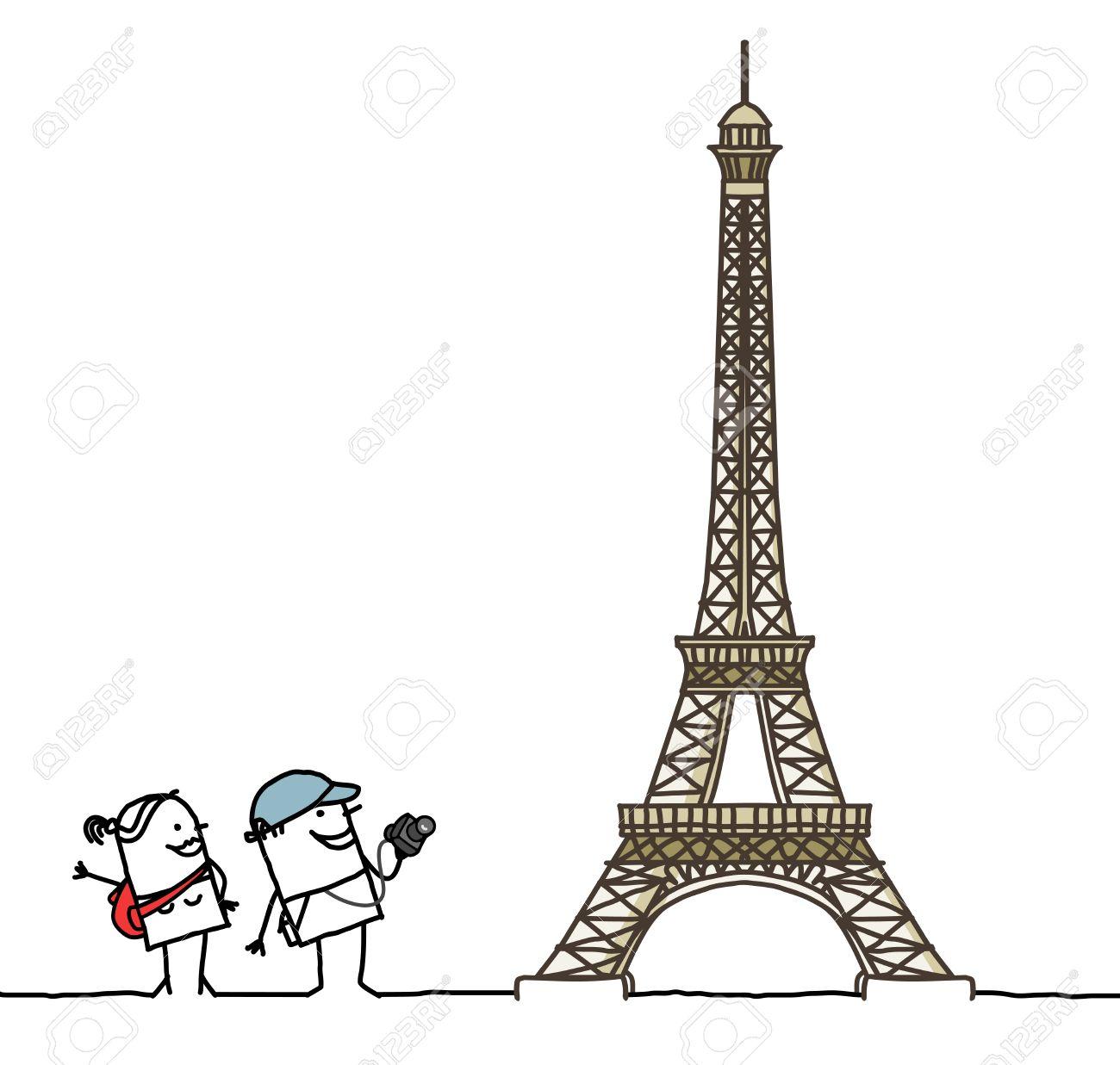 Koleksi Gambar Kartun Animasi Paris