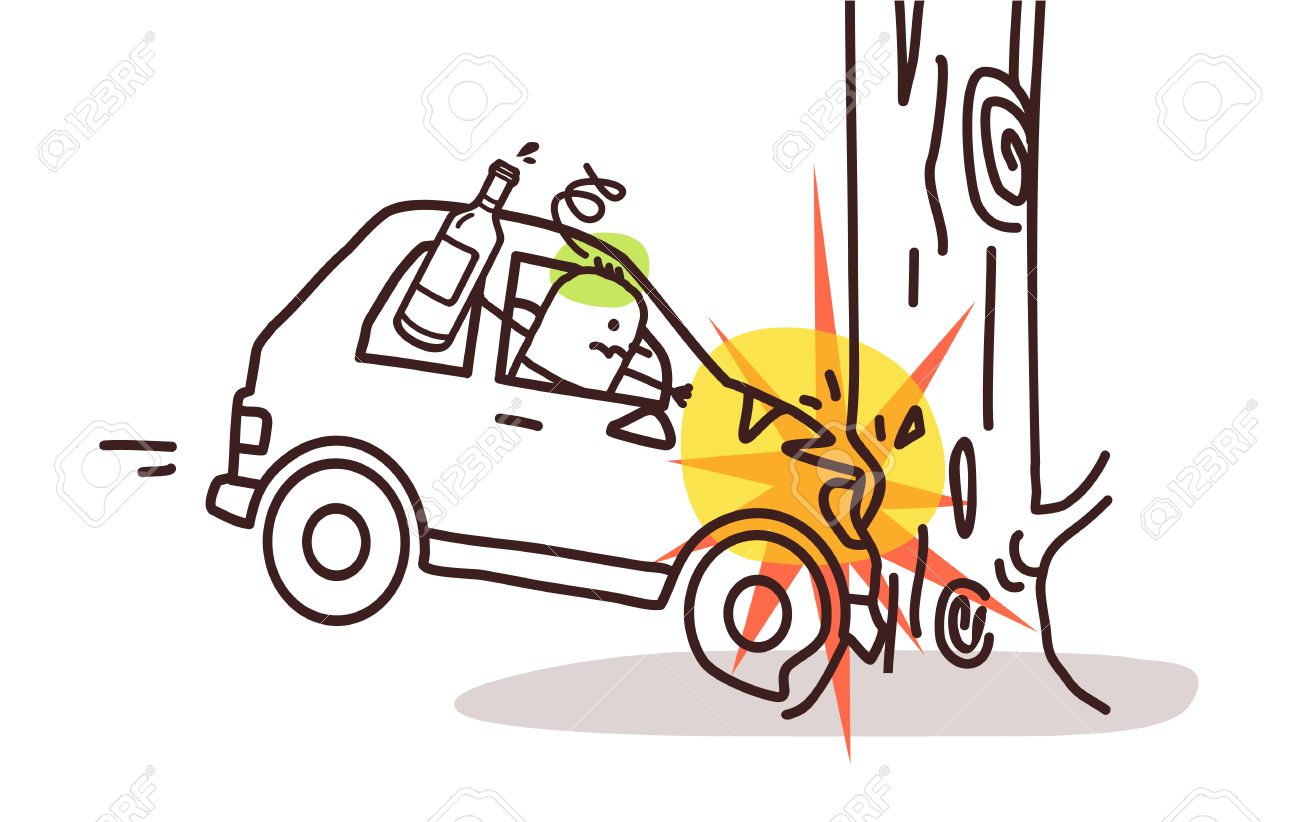Magnificent Collision Drawing Cartoon Pictures Inspiration - Wiring ...