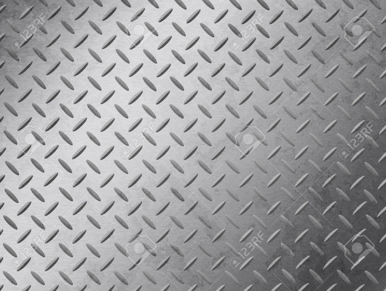Image of a grungy diamond plate texture. Stock Photo - 6985226