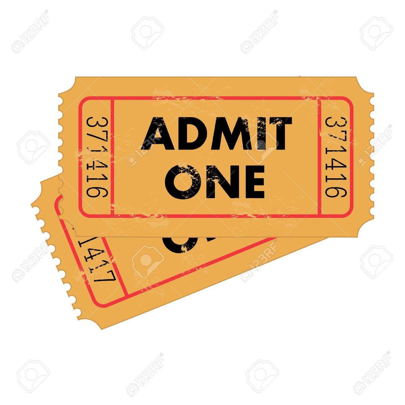 Movie Ticket Stub Stock Photos Images. Royalty Free Movie Ticket ...