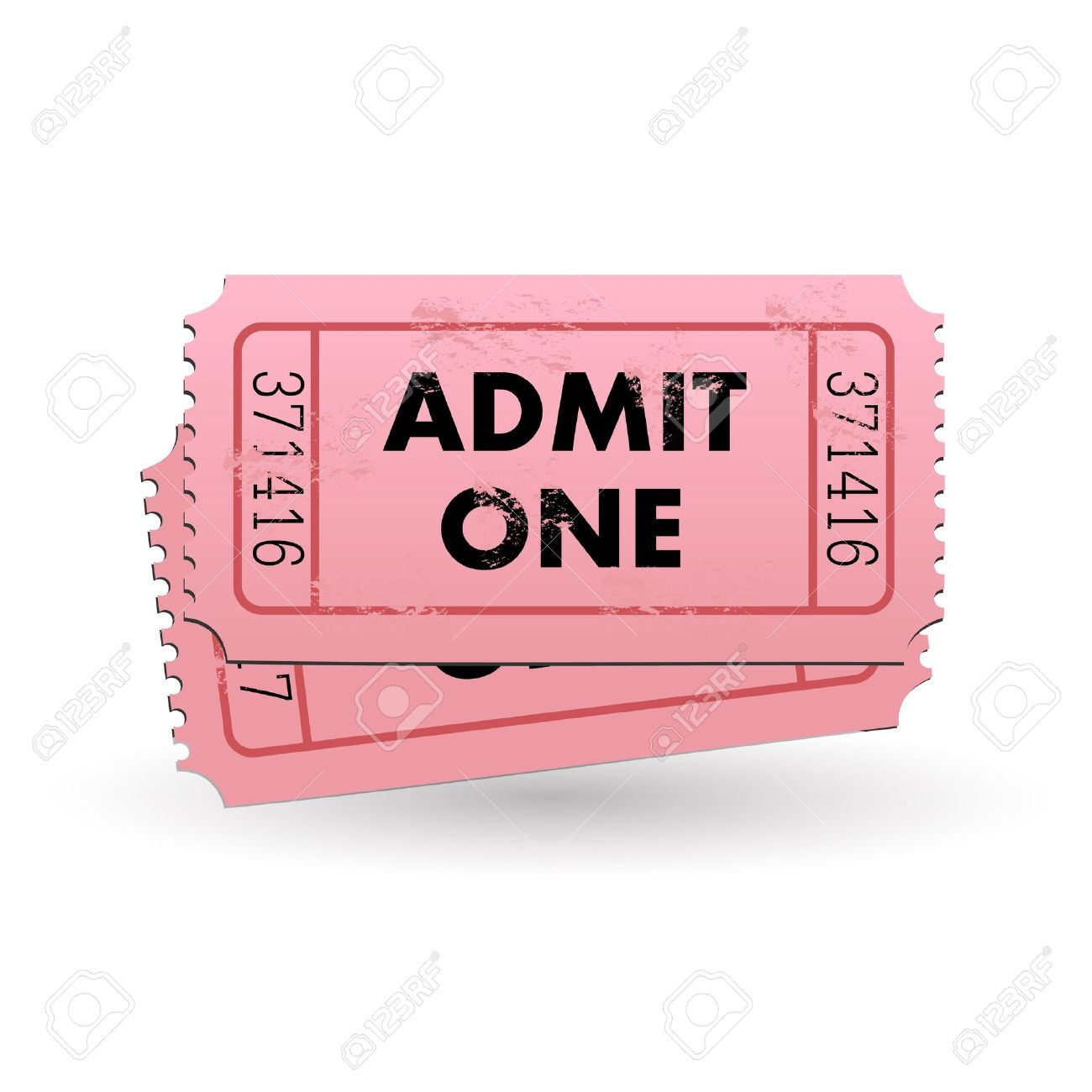 raffle stock vector illustration and royalty raffle clipart raffle image of a pink admit one ticket isolated on a white background
