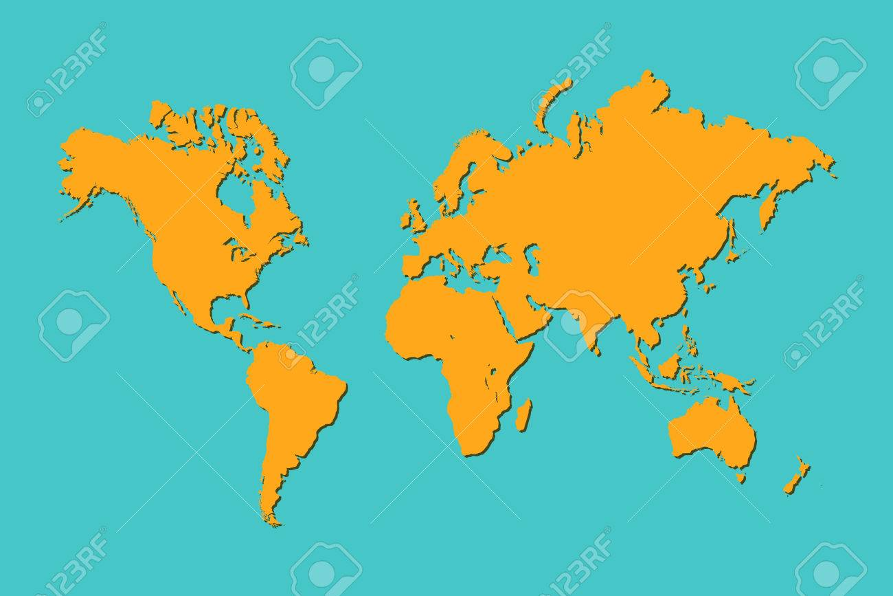 Illustration of a colorful world map royalty free cliparts vectors illustration of a colorful world map stock vector 27195091 gumiabroncs Gallery